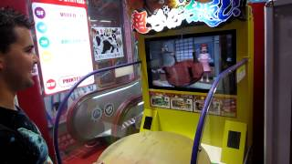 Dan Plays Japanese Table Flipping Arcade Game.
