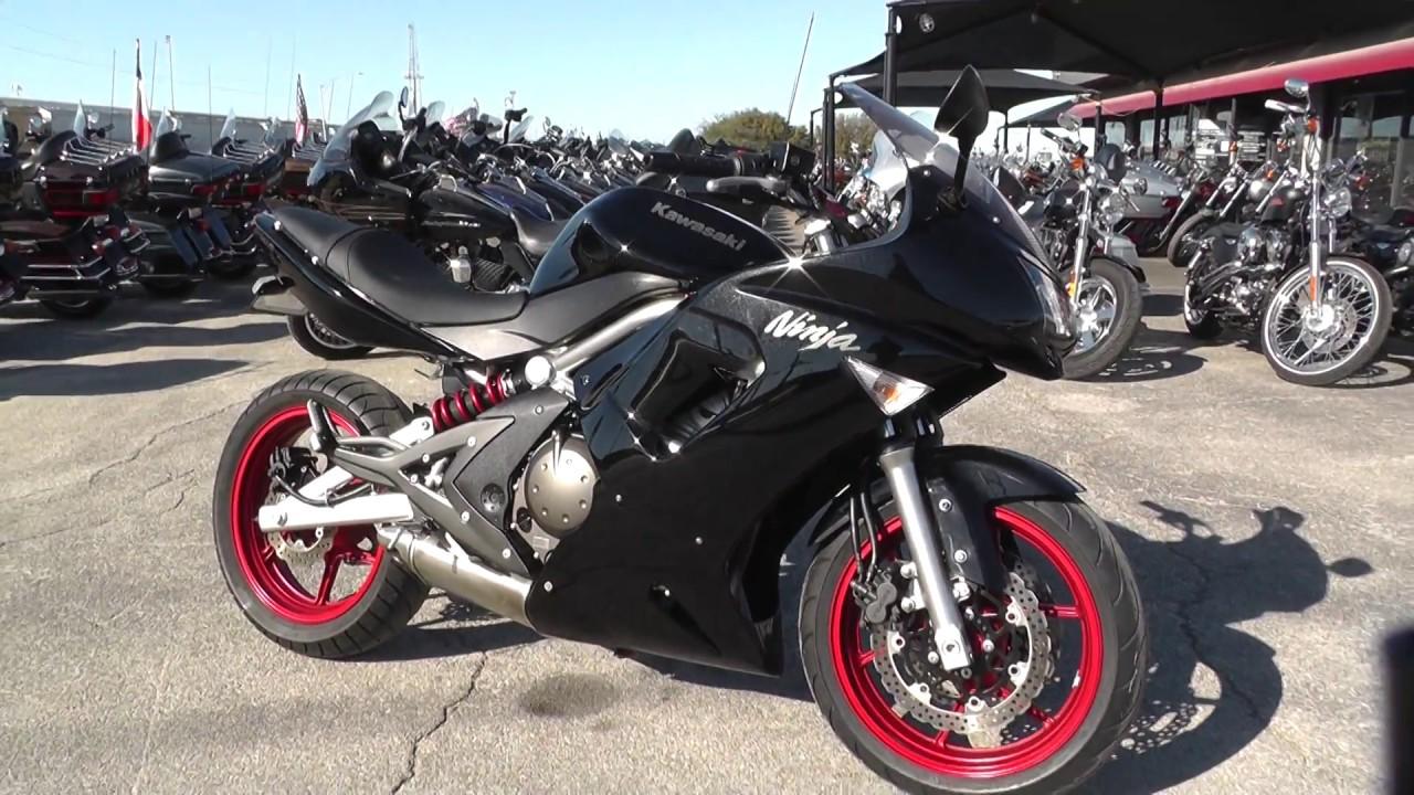 040989 2008 kawasaki ninja 650r ex650a used motorcycles for sale youtube. Black Bedroom Furniture Sets. Home Design Ideas