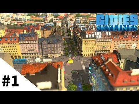 【Cities: Skylines】#1 街がにょきにょき生えるゲームが楽しすぎるので紹介してみるよ