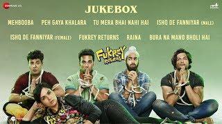 Fukrey Returns 8th Dec - Full Movie Audio Jukebox | Pulkit S, Varun S, Manjot S, Ali F & Richa C