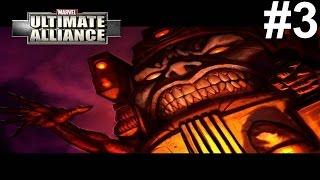 Marvel Ultimate Alliance PS3 Gameplay #3 [The New Avengers vs MODOK]