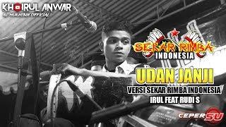 Gambar cover UDAN JANJI_VERSI SEKAR RIMBA INDONESIA_IRUL FEAT RUDI S