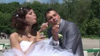 Свадьба в Туле. Катя и Рома 9 июня 2012 в парке.m2t