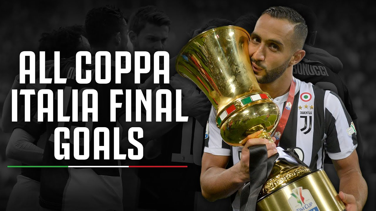 ALL Goals From Juventus' Coppa Italia Finals So Far 🏆⚽️ - YouTube