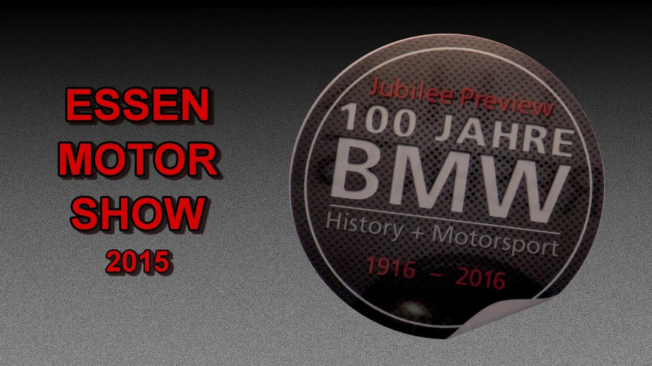 100 jahre bmw history motorsport essen motor show 2015 youtube. Black Bedroom Furniture Sets. Home Design Ideas