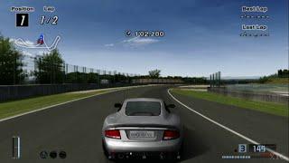 Gran Turismo 4 - Aston Martin Vanquish HD PS2 Gameplay
