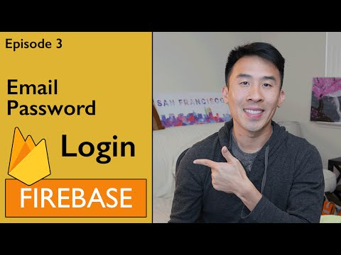 Swift: Firebase 3 - Logging in with Email and Password (Ep 3)