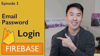 swift firebase 3 logging in with email and password ep 3
