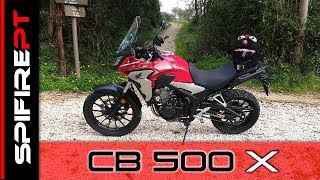 Honda CB 500X 2019 - Review & TestRide