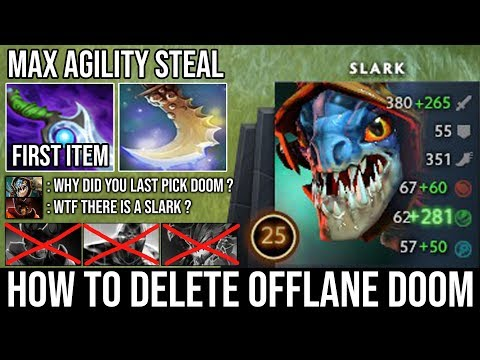 SUPER AGGRESSIVE OFFLANE SLARK Crazy Agility Buff 100% No Fun Allow with Scepter Jump 23Min GG DotA from YouTube · Duration:  23 minutes 40 seconds