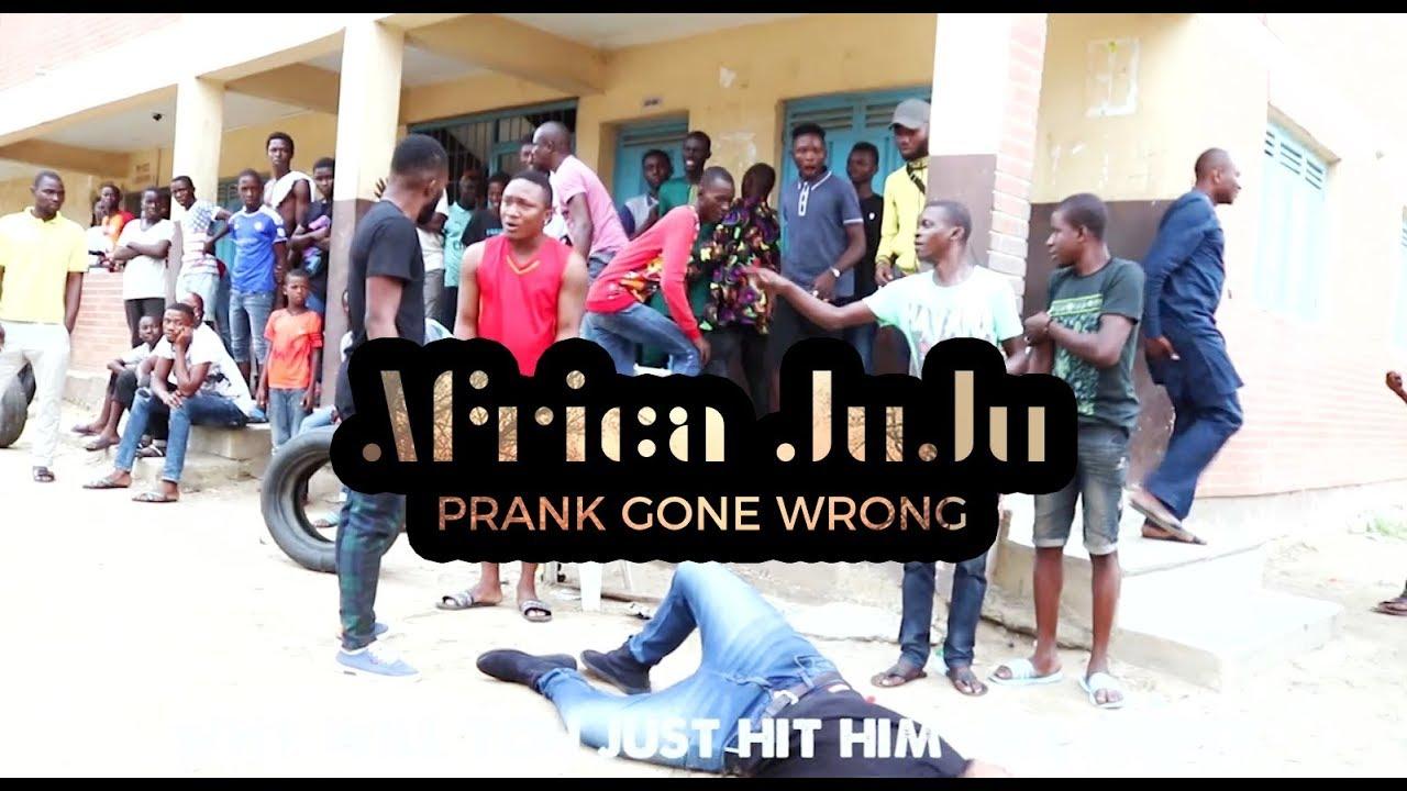 Africa Juju Prank Gone Wrong  ( Nigeria Prank )