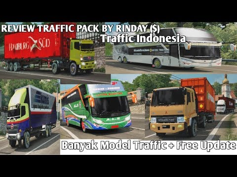 REVIEW TRAFFIC PACK BY YULI INDRAYANA ($) -ETS2 MOD INDONESIA