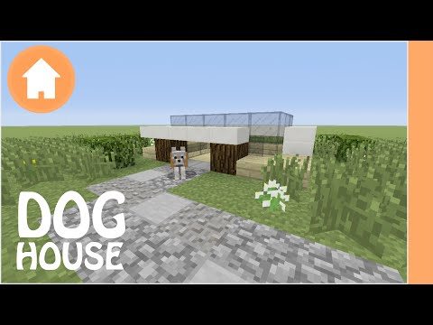 Dog House Tutorial Minecraft Xbox/Playstation/PE/PC/Wii U