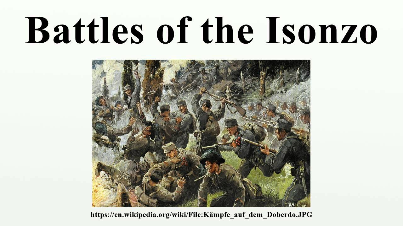 Battles of the isonzo youtube sciox Gallery