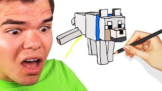 GUESS The MINECRAFT DRAWING Or LOSE! (Skribbl.io)