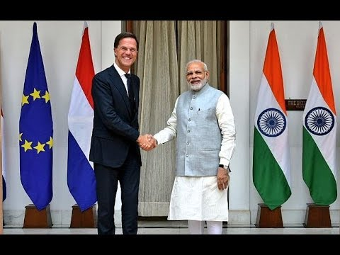 PM Modi and Netherlands PM at a Joint Press Meet