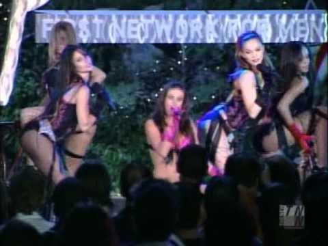 Pussycat Dolls - Big Spender & Fever Live At  Playboy Mansion (Carmen Electra)