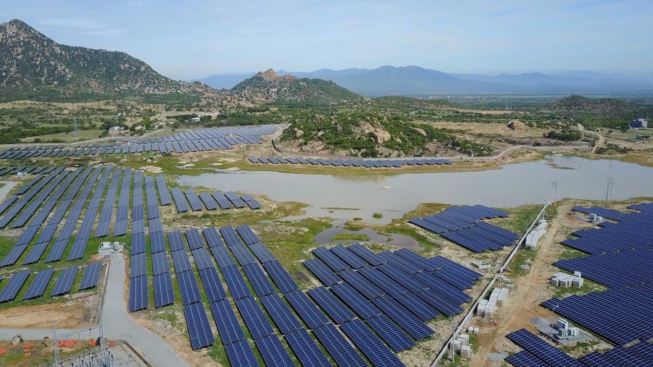 Nhà máy điện mặt trời Hồ Bầu Ngứ Ninh Thuận (demo)