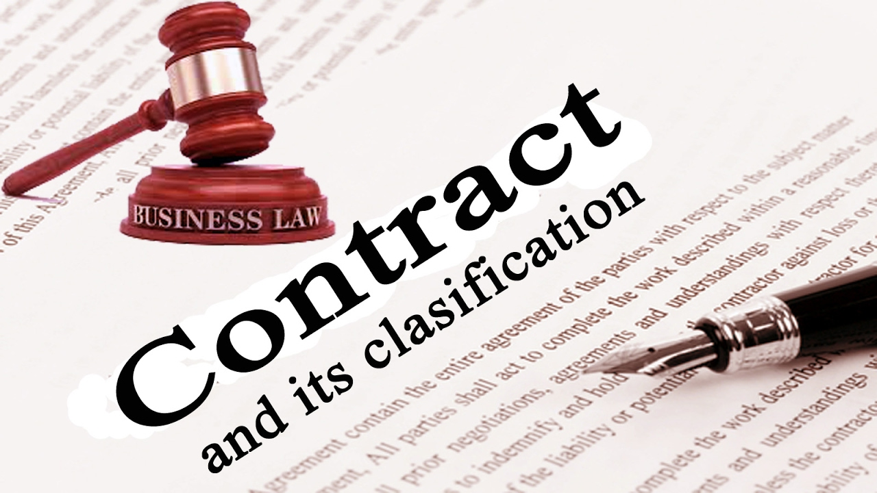 classification of contracts 33333 classification of contracts l introduction l contracts on the  basis of formation • express contract • implied contract.