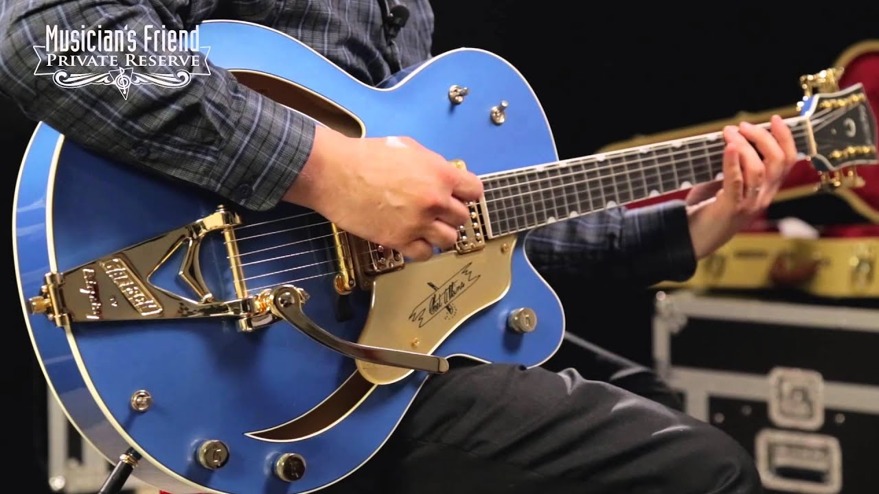 Gretsch Guitars Custom Shop 6120 Electric Guitar Lake Placid Blue