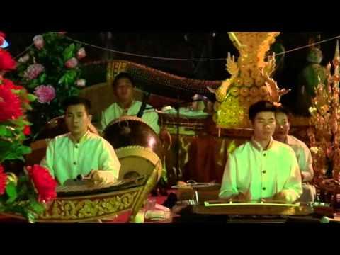 Lao Traditional Music at Wat Phanman, Vientiane, Laos