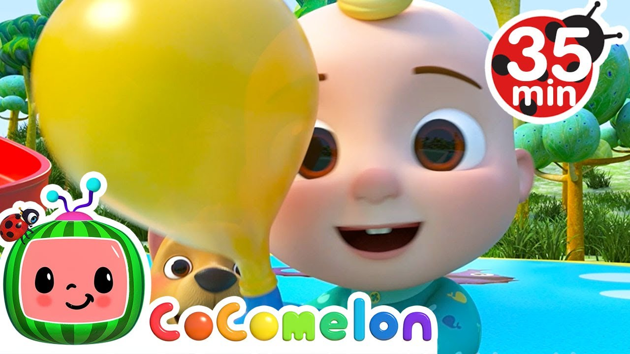 Balloon Race Song + More Nursery Rhymes & Kids Songs - CoComelon