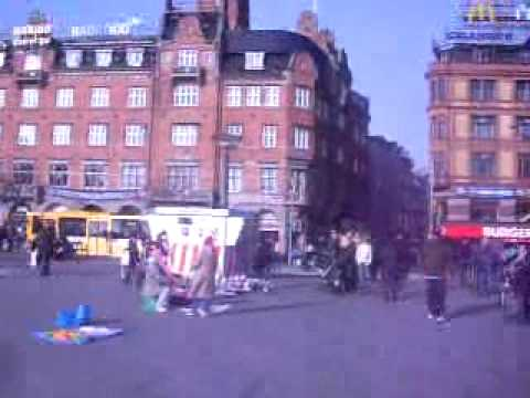 Visiting Copenhagen City Center,  EU Simulation Lund 2009