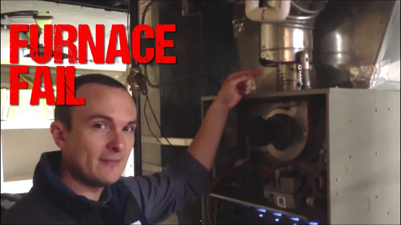 Bad Furnace Exhaust Flue Draft Pressure Testing Youtube