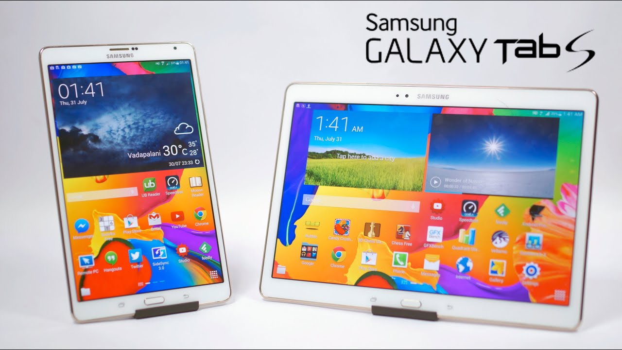 how to open samsung tab s 10.5
