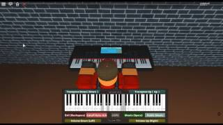The Fragrance of Dark Coffee - Ace Attorney: T&T by: Noriyuki Iwadare on a ROBLOX piano.