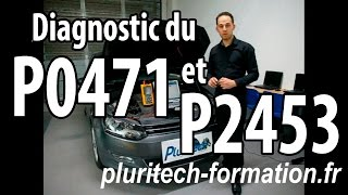DIAGNOSTIC DU FAP/DPF - P0471 & P2453