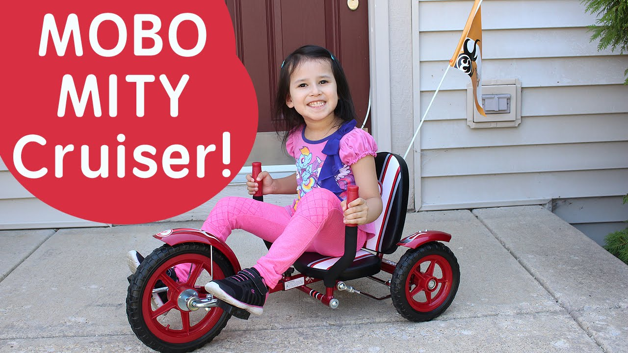 Mobo Mity 3 Wheeled Cruiser For Kids Ride On Toys For Kids Bikes