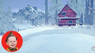 The Long Dark - Coastal Highway episode 1 (PS4). The Fishing Camp and Jackrabbit Island