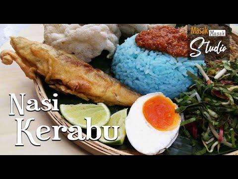 Download NASI KERABU SAMBAL TUMIS paling sedap  l  Blue Rice Herbs