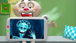 Доктор для Лисёнка 3D ИГРЫ для детей Развивающий мультик   Little Fox Animal Doctor