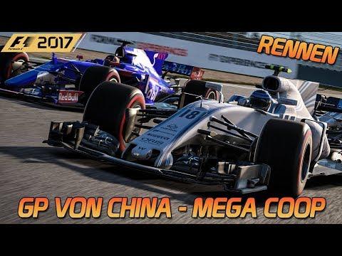 Mega Coop in China - Rennen | F1 2017 [HD] [GER] Shanghai International Raceway