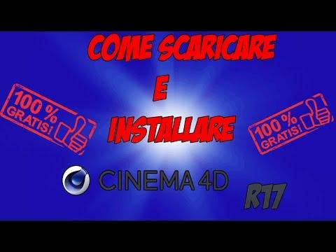 COME SCARICARE E INSTALLARE CINEMA 4D R17 GRATIS!!!-[PC ITA]