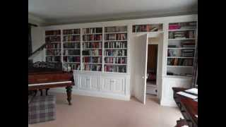 Bespoke Fitted Bookcases By Verny Furniture