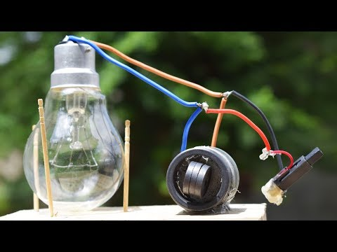 Free Energy Light Bulbs 230v - using Magnet thumbnail