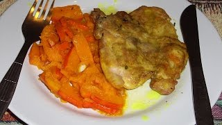 Рецепт отбивной / Куриные отбивные в духовке