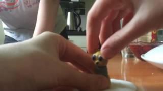 Как сделать котенка из пластилина