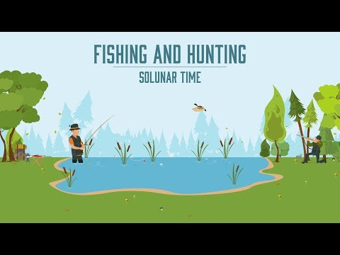 Fishing And Hunting Solunar Time