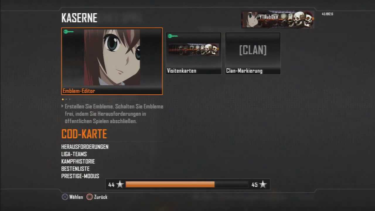 Black Ops 2 New Embleme Kopieren German Deutsch 2015