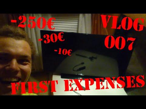 First Expenses | RODAS Vlog 007