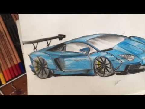 How To Draw Liberty Walk Lamborghini Aventador Time