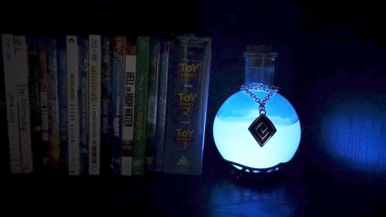 LED Potion Desk Lamp Review | Something Every Geek Needs - YouTube