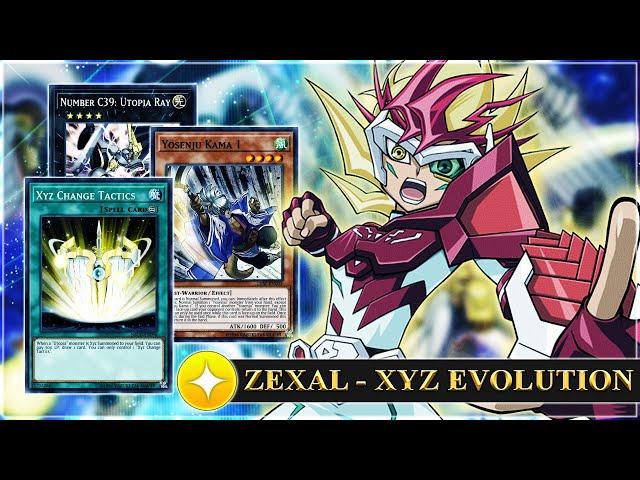 NEW Skill! XYZ EVOLUTION YOSENJU w/ Fire Formation - Tenki! 80% WIN RATE | Yu-Gi-Oh! Duel Links