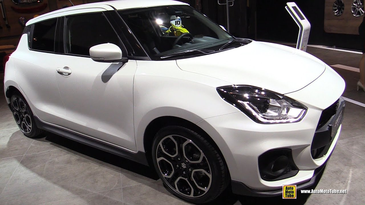 2018 suzuki swift sport exterior and interior walkaround. Black Bedroom Furniture Sets. Home Design Ideas