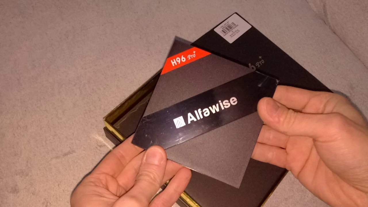 Alfawise H96 Pro+ TV Box Review - A Retro Beast With 4K