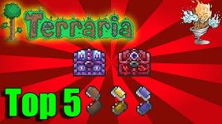 Terraria Top 5 Mimic Drops | Terraria 1.3 Countdown